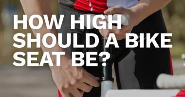 How High Should a Bike Seat be?