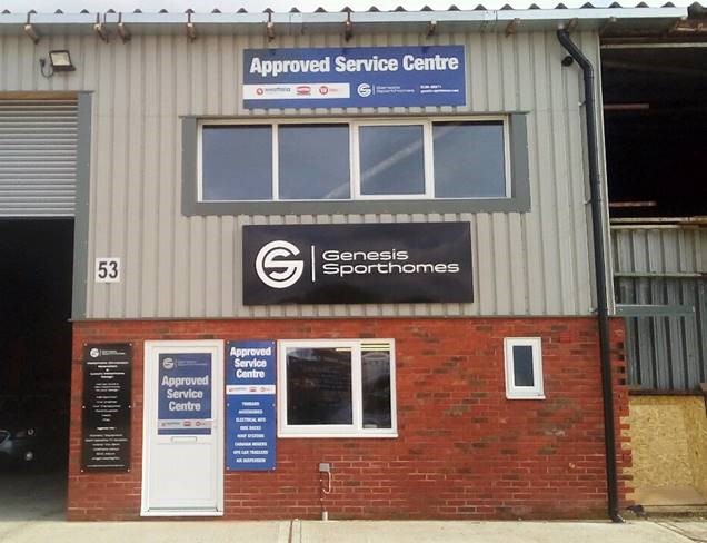 Genesis Sporthomes - Approved Service Centre
