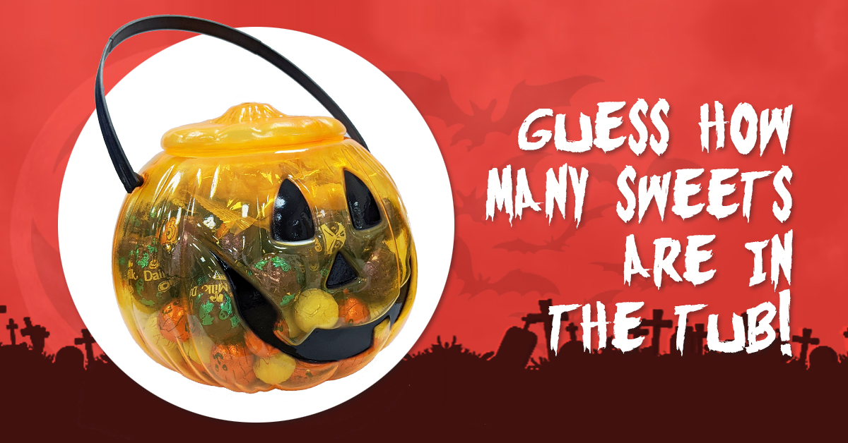 Halloween Guess The Sweets Competition!