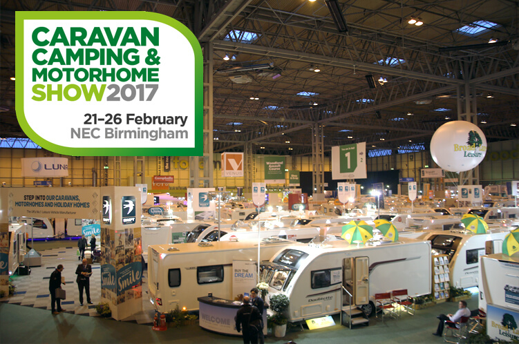 The Caravan, Camping and Motorhome Show 2017
