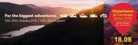 The Motorhome & Caravan Show 2019