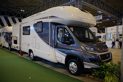 Motorhome at the show