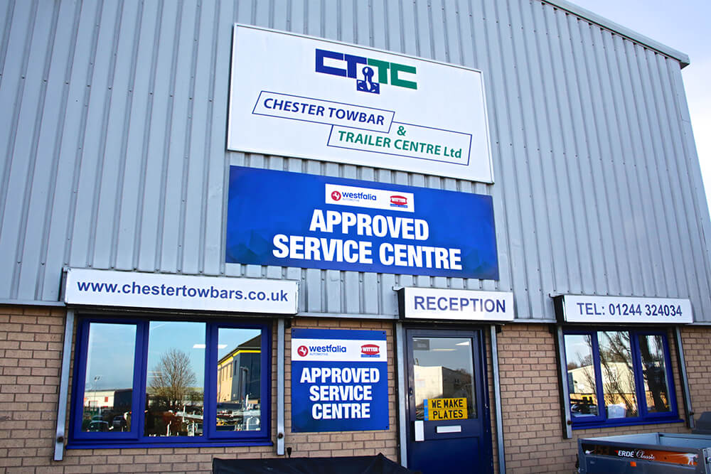 UK First for Chester Towbar and Trailer Centre