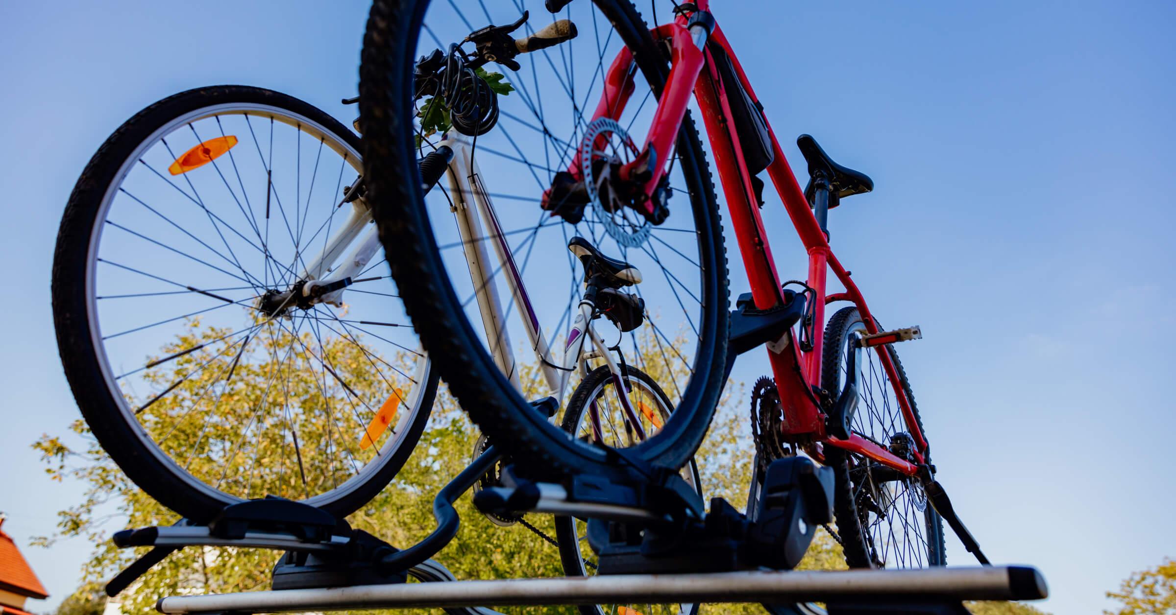 How to Load Bikes onto a Bike Rack