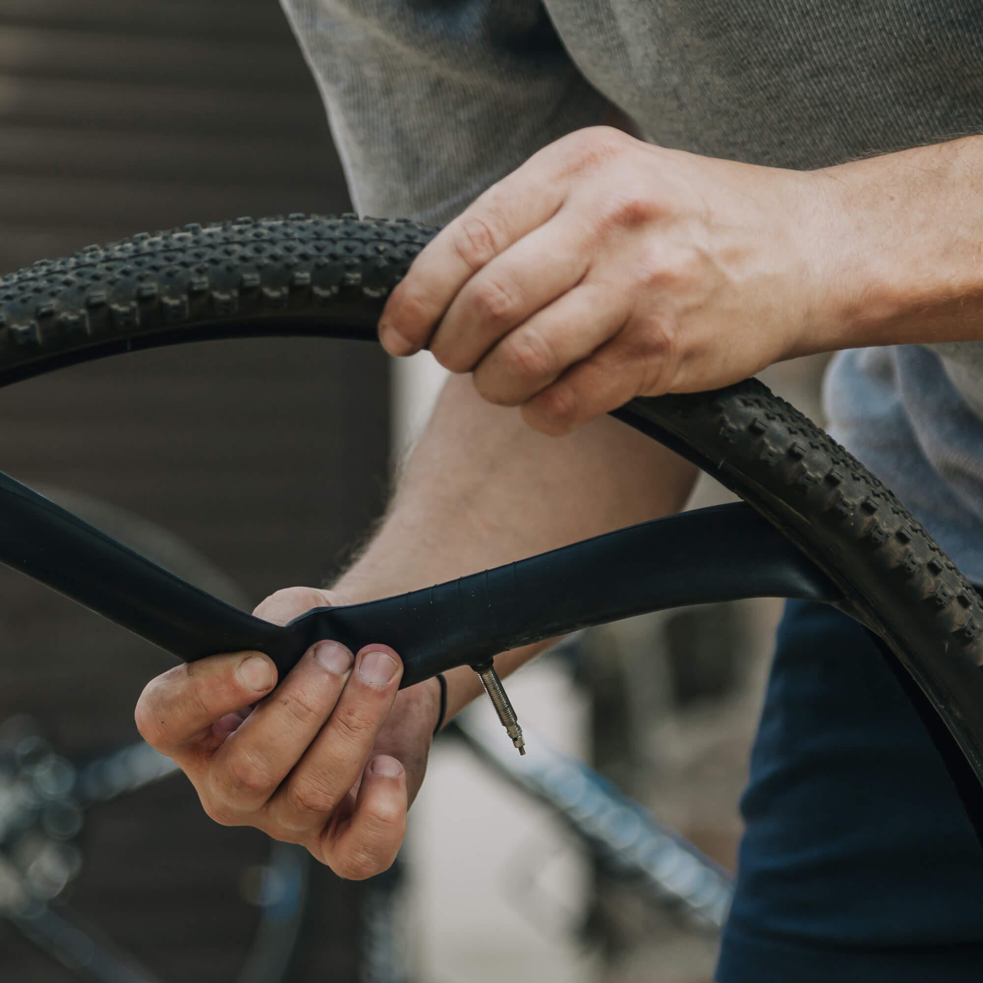 ​How to Pump and Change a Bike Tyre
